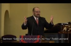 "December 20, 2014 – Todd Leonard, ""Gabriel's Annunciation…to You"""