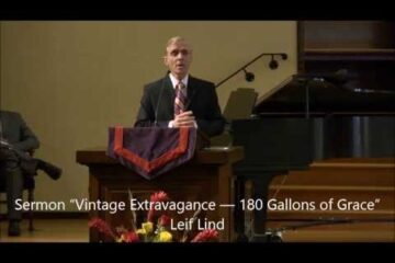 """February 1, 2014 – Leif Lind """"Vintage Extravagance–180 Gallons of Grace"""""""