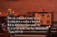 SERMON   All Or Nothing – Pastor Fred Nichols Part 1