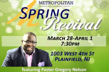 3/31-Spring Revival Featuring Pastor Greg Nelson