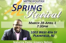 4/1-Spring Revival Featuring Pastor Greg Nelson