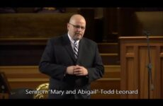 "April 4, 2015 – Todd Leonard, ""Mary and Abigail"""