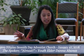 Almost –  Elder Danna Ley Abance