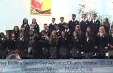 Courage, My Soul – Fraser Valley Adventist Academy Choir