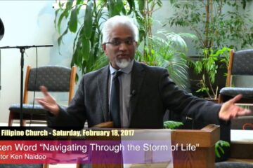 Navigating Through the storms of life –  Pastor Kenneth Naidoo